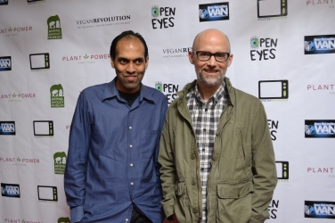 Moby and Prabhat Red Carpet