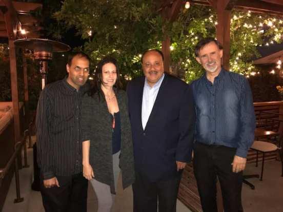 Prabhat Gautam, Antoinette Westcott, Martin Luther King III, Ron Russell
